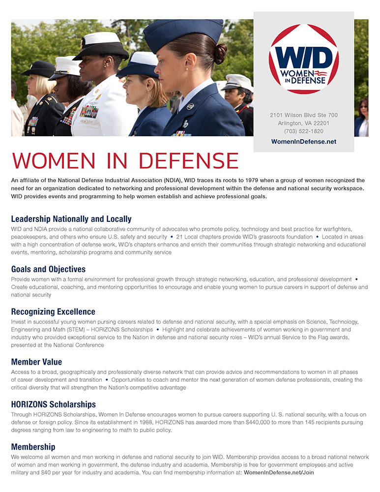 Space Coast Women in Defense – Non-profit professional